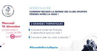 #COVID19 : Comment réussir la reprise des clubs sportifs fédérés après la crise ?